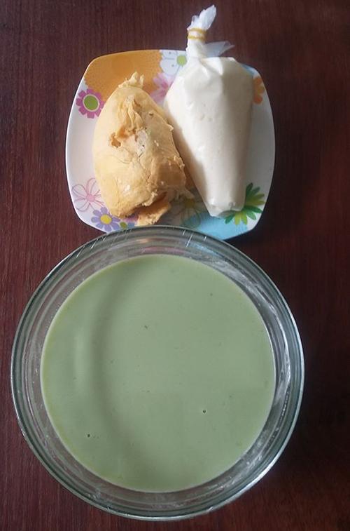 Bánh crepe sầu riêng vị dừa lá dứa - 1