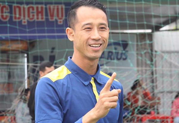 Vũ Như Thành từng là học trò của HLV Lê Thụy Hải ở Bình Dương.