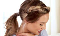 3 cách buộc đuôi ngựa điệu đà cho nàng tóc ngắn
