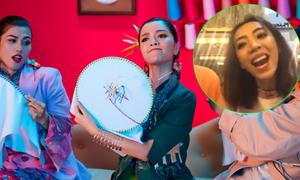 Hoa hậu hài Thu Trang 'phá nát' hit của Bích Phương
