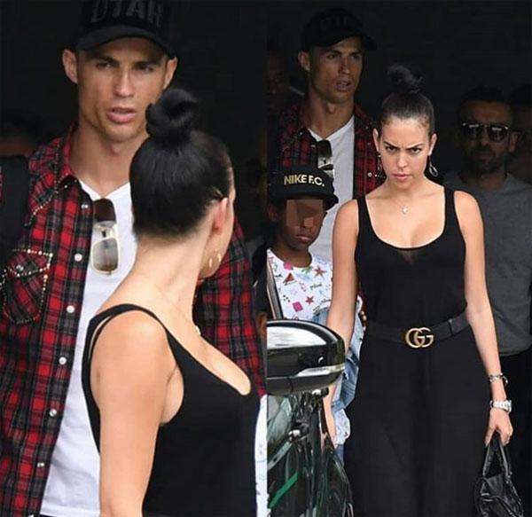 Georgina Rodriguez đi nghỉ cùng C. Ronaldo. Ảnh: NN.