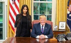 Kim Kardashian gặp Tổng thống Mỹ xin ân xá cho một nữ tù nhân