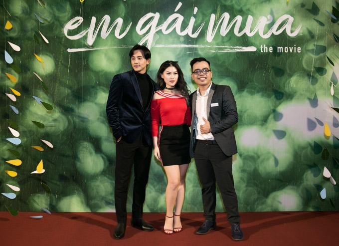 Diễn viên Ngọc Thanh Tâm cũng tới thưởng thức phim điện ảnh Em gái mưa.