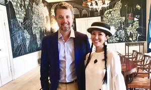 Hồng Nhung dự sinh nhật thái tử Đan Mạch