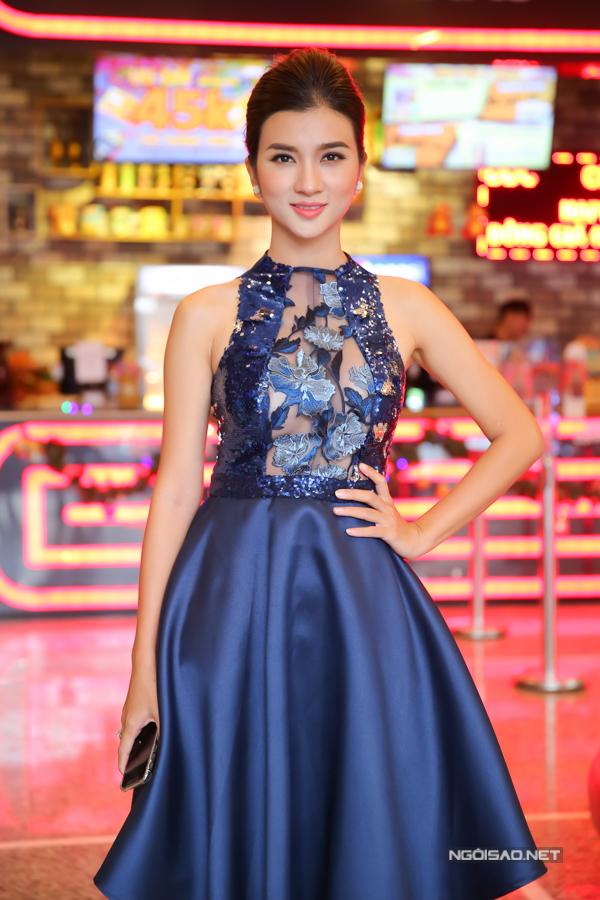 Kim Tuyến là một trong những người đẹp kín tiếng nhất showbiz Việt.