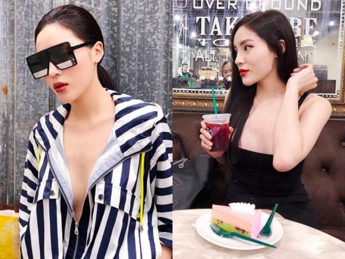 Khi xuống phố, Kỳ Duyên không ngần ngại theo đuổi mốt không nội y hay diện váy hai dây trễ vòng một. Nhiều ý kiến cho rằng cô đang phát huy quá mức phong cách gợi cảm vốn khó gắn liền với hình ảnh một Hoa hậu Việt Nam thanh lịch, duyên dáng.