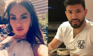 Aguero hẹn hò người mẫu một đời chồng, một tháng sau sự cố chửi bạn gái cũ