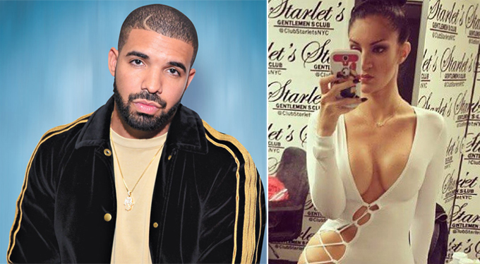 Drake được cho là có con trai với cựu sao phim sex Sophie Brussaux.