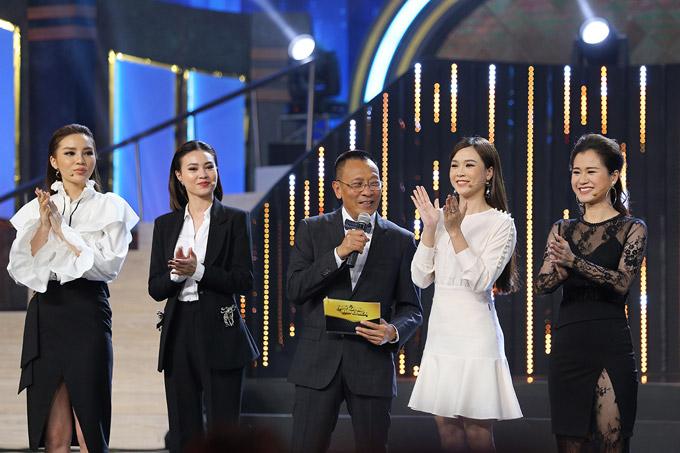 Các nữ giám khảo trong tập 5 của Quý ông đại chiến gồm Hoa hậu Kỳ Duyên, Lan Ngọc, hot girl Sam và Lâm Vỹ Dạ.