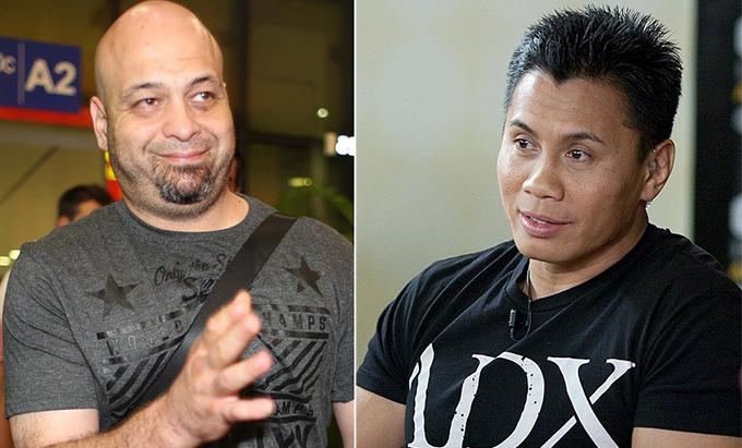 Pierre Flores và Cung Lê liên tục công kích nhau nhưng không có trận đấu nào diễn ra.