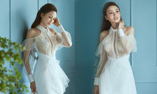 Diễm Hương gợi ý mặc đẹp cùng váy trắng