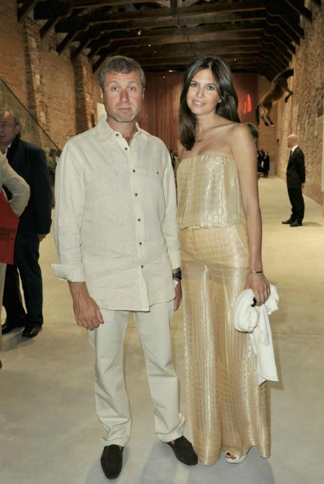 Abramovich kết hôn lần 3 ở tuổi 42 nhưng hiệnđã ly thân. Ảnh:Telegraph.