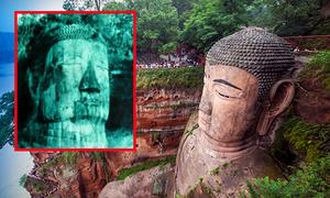 Tượng Phật 'biết khóc', chìm trong vách núi ở Trung Quốc
