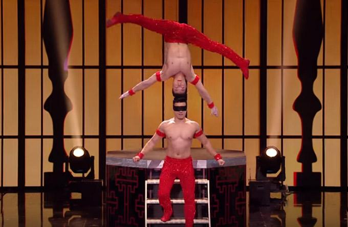 Quốc Cơ - Quốc Nghiệp dự thi bán kết Britains Got Talent 2018.