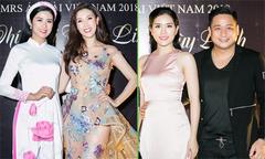 Ngọc Hân cùng dàn sao dự tiệc của Hoa hậu Phí Thuỳ Linh