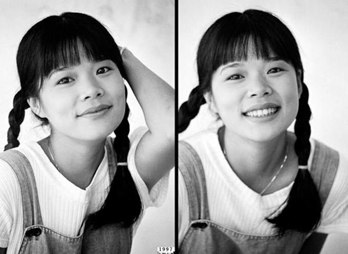 Mỹ Lệ chia sẻ bức ảnh cách đây hơn 20 năm khi mới vào nghề với cảm xúc: 1997 - cô Thắm bước vào Sài Gòn lập nghiệp, còn giữ nguyên vẹn sự vô tư, trong sáng và sự tự tin của cô nàng tỉnh lẻ.