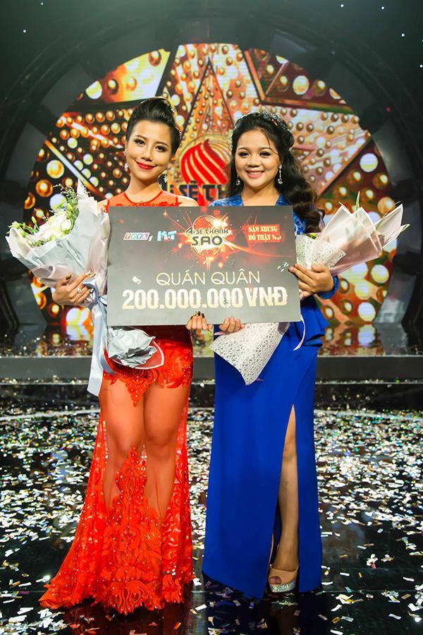 Phượng Vũ (trái) và Phù Vạn Nam Hương.