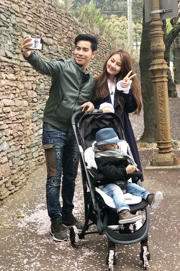 gia đình Ngọc Lan  Thanh Bình vừa có chuyến ghi hình tại Hàn Quốc cho chương trình Con đến từ hành tinh nào