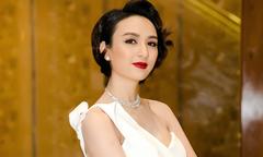 Hoa hậu Ngọc Diễm cắt tóc tém