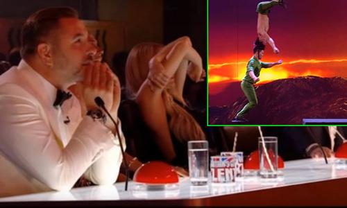 Giám khảo Britain's Got Talent che mặt khi xem Quốc Cơ - Quốc Nghiệp biểu diễn