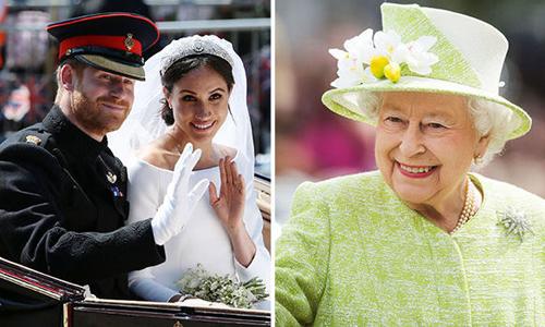 Nữ hoàng Anh tặng dinh thự cho vợ chồng Hoàng tử Harry