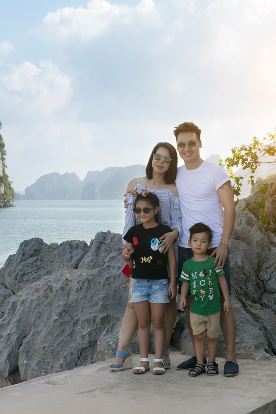 Mạnh Trường, Hồng Đăng cùng vợ con nghỉ dưỡng trên du thuyền 5 sao - 5