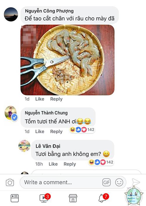 Fan chế ảnh thèm ăn tôm troll các cầu thủ U23 Việt Nam - 1