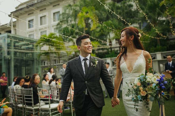 Bạn đừng tiết kiệm bằng cách tự mình làm mọi thứ. Đám cưới của chúng tôi được chuẩn bị trong vòng 2 tháng. Nếu như không có đội ngũ wedding planner, chúng tôi đã không thể có một đám cưới trọn vẹn, Amanda đưa ra lời khuyên cho các cặp cô dâu chú rể.