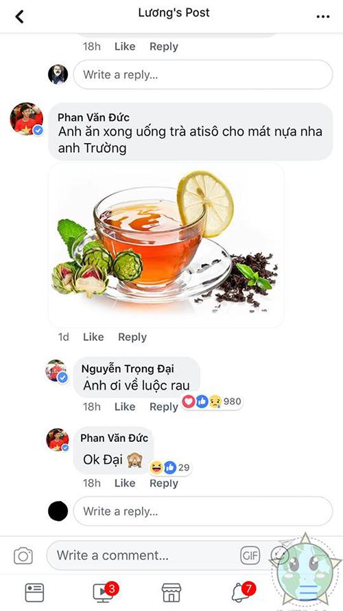 Fan chế ảnh thèm ăn tôm troll các cầu thủ U23 Việt Nam - 7