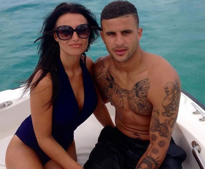 Annie Kilner (Girlfriend of Kyle Walker) The £50m Man City man has been dating glamour girl Annie since the pair met in his hometown of Sheffield in 2011. However, hes admitted in the past his obsessive cleaning drives her mad.