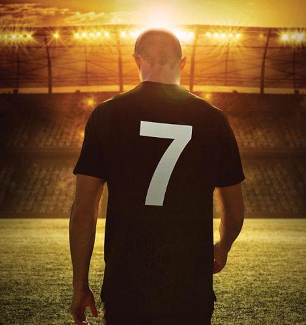 Trên trang cá nhân, chân sút 33 tuổi đăng ảnh để xốc lại tinh thần, tập trung hoàn toàn cho World Cup 2018.