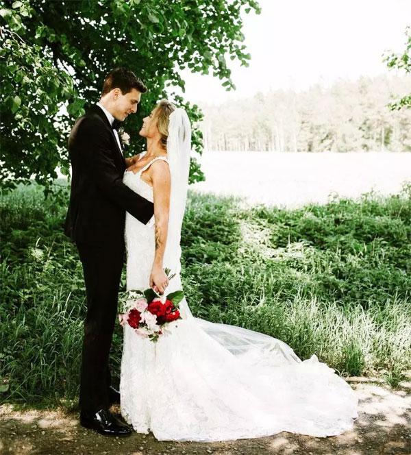 Đám cưới diễn ra sau khi mùa giải kết thúc. Ảnh: NS.