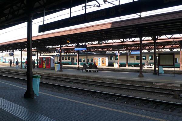 Nhà ga Piacenza ở miền bắc Italy. Ảnh: Alamy.