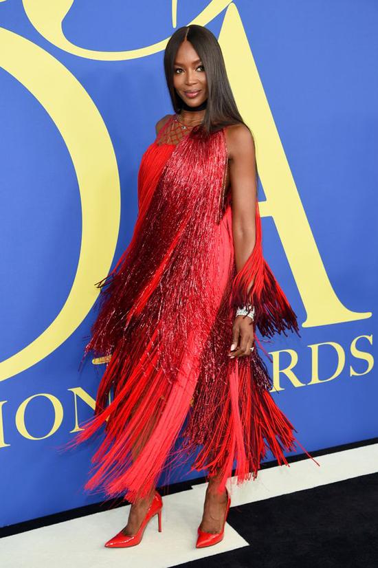 Siêu mẫu Naomi Campbell.