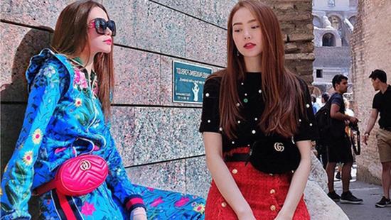 Phong cách chị em đồng điệu của Hồ Ngọc Hà và Minh Hằng