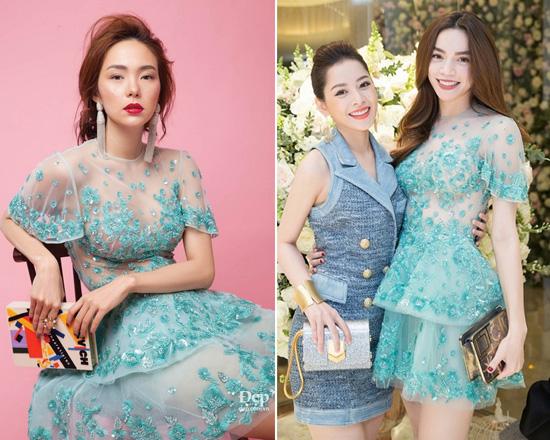 Phong cách chị em đồng điệu của Hồ Ngọc Hà và Minh Hằng - 9