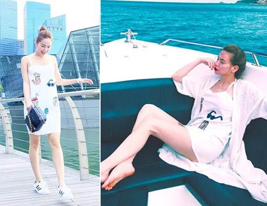 Phong cách chị em đồng điệu của Hồ Ngọc Hà và Minh Hằng - 7