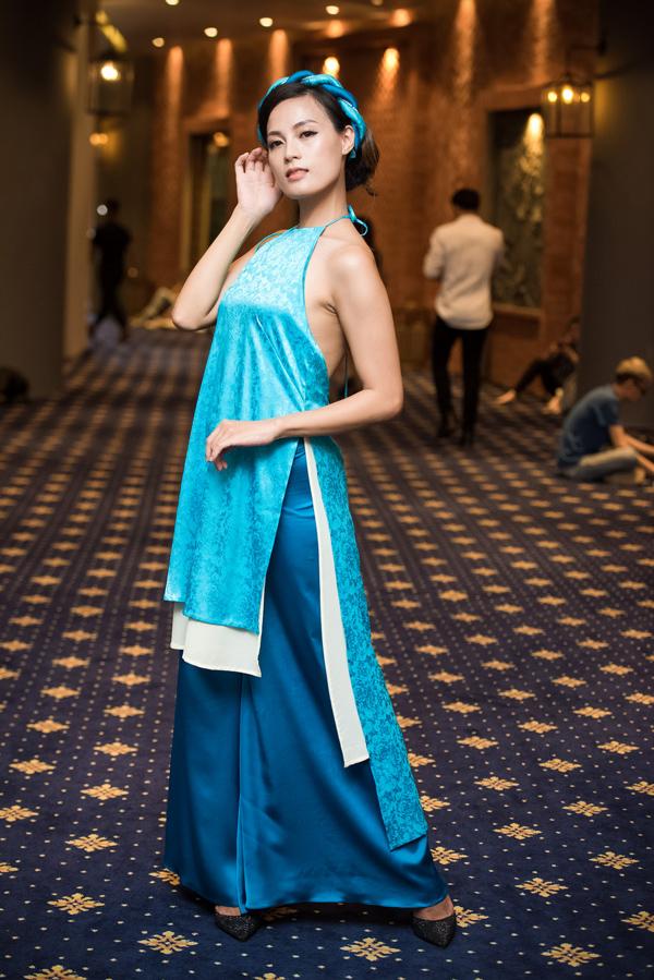 Buổi casting có sự tham gia của nhiều người đẹp, trong đó có diễn viên Ngọc Anh phim Thương nhớ ở ai.