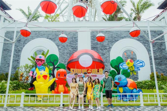 Công viên kỷ Zura được tái hiện sống động tại trung tâm Đà Nẵng (em xin edit)