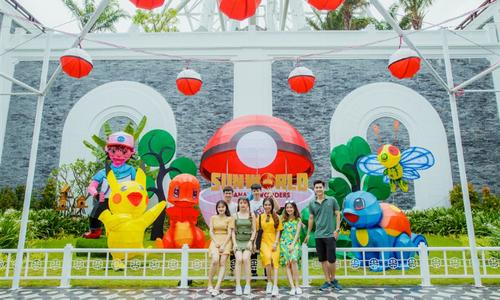 Lễ hội đèn lồng tại Sun World Danang Wonders, Đà Nẵng