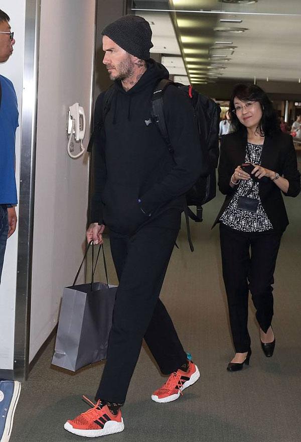 Becks và Brooklyn đã bắt kịp một số thời gian cha-con trai chất lượng trong tuần vừa rồi, không lâu sau một chuyến đi đầy thú vị đến Tokyo.
