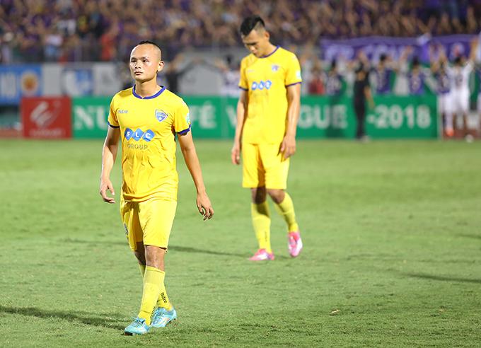 Messi xứ Thanh Lê Quốc Phương là một trong 4 cầu thủ bị thanh lý hợp đồng. Ảnh: Đương Phạm.