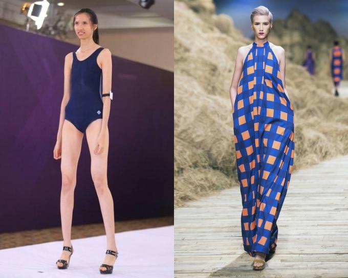 Hồng Xuân trưởng thành từ chương trình Vietnams Next Top Model mùa giải 2015 và 2017.