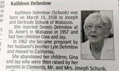Hai người con trút nỗi hận thù bị bỏ rơi trong cáo phó của mẹ