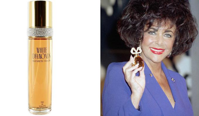 Diễn viên Elizabeth Taylor khởi xướng trào lưu bán nước hoa của sao cách đây hơn 20 năm. Ảnh:beautyheaven.