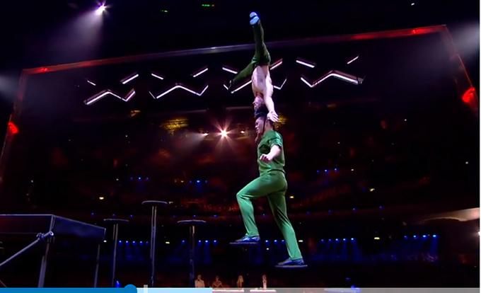 Tiết mục của hai anh em Quốc Cơ - Quốc Nghiệptại chung kết Britains Got Talent đã chiếm được cảm tình của đông đảo khán giả trong nước.