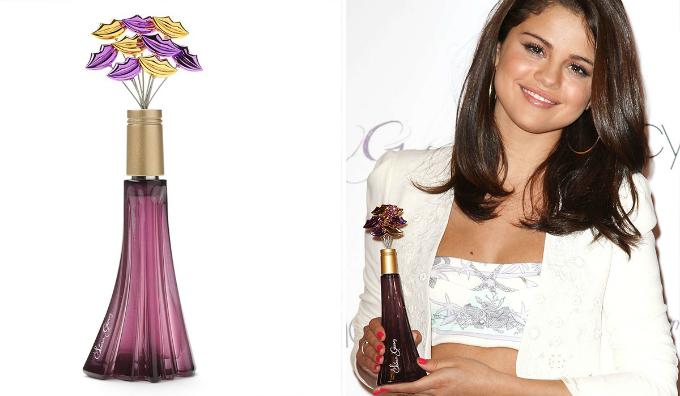 Selena Gomez tập hợp ý kiến fan trên mạng để chế mùinước hoa riêng. Ảnh:beautyheaven.com