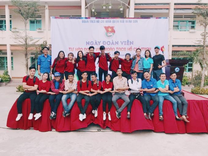 Đội flashmob quận đoàn Ngũ Hành Sơn: Chúng tôi mong đợi được đứng trên sân khấu DIFF 2018
