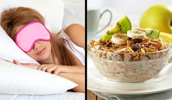 Ngủ đủ giấc, ăn uống lành mạnhChế độ dinh dưỡng kém lành mạnh có thể khiến bạn ngủ không ngon giấc. Với những người đã bước qua tuổi 30, chất lượng giấc ngủ có ảnh hưởng rất lớn tới sức khỏe và tinh thần. Bạn cần