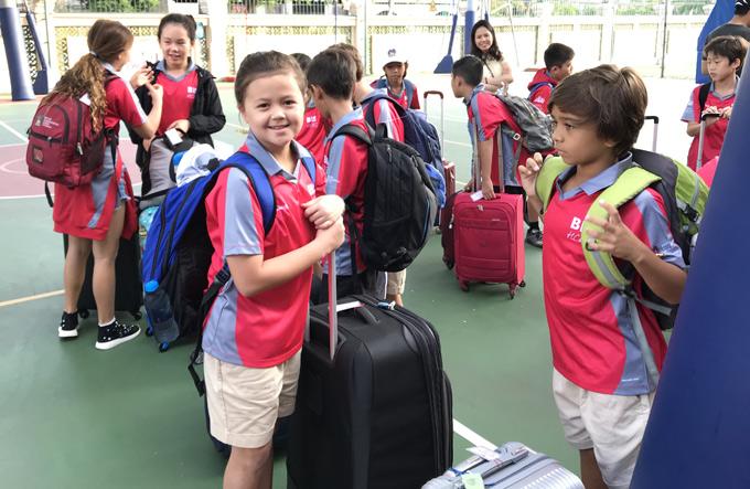 Ngọc Nga tiết lộ, các con cô đều rất năng động, thích du lịch, đi chơi xa. Ngoài thể thao, cả ba bé đều có thiên hướng về nghệ thuật, biết chơi nhiều nhạc cụ.